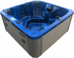 Badstuber Palma outdoor whirlpool 5-persoons blauw