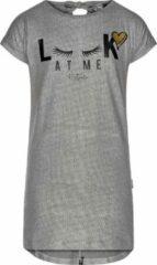 Zilveren Retour Jeans Meisjes T-shirt - Silver - Maat 104
