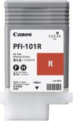 Rode Canon PFI101 - Inktcartridge / Rood