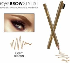 REVERS® Eye Brow Stylist Long Lasting Brow Pencil & Brush Light Brown #02