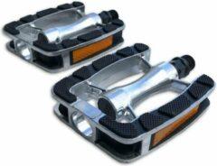 Lynx Platformpedalen Tourfiets 9/16 Inch Zilver/zwart