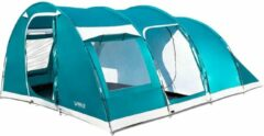 Blauwe Bestway Pavillo Family Dome 6 - tent 6-persoons