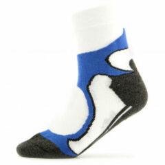 Blauwe Rohner - Rohner Basic Running / Walking 2er Pack maat 35-38 zwart/grijs/wit/blauw