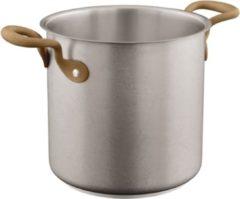 Zilveren Kookpan Vintage extra hoog 20 cm - Sambonet