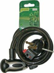 Zwarte Slot V-Race Kabelslot 12mmx150cm