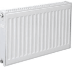 Witte Plieger paneelradiator compact type 11 600x1400mm 1271W wit 7340447