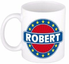 Shoppartners Namen mok / beker - Robert - 300 ml keramiek - cadeaubekers