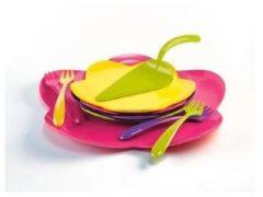 Paarse Zak designs Zak!Designs Sweety Cakeserveerset - Flora