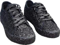 CHIAMAX Dance/disco sneakers zwart