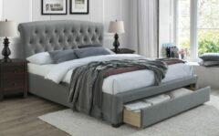 Home Style Tweepersoonsbed Avanti 160x200cm in grijs
