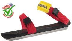 Zandstra - Kinderschaats - Easy glider - Zwart-Rood - 26-30