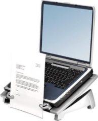 Grijze Fellowes laptop standaard in 6 hoogtes verstelbaar Office Suites plus