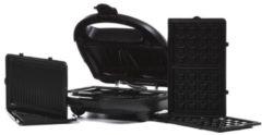 Unold Grill-Toast-Waffel schwarz m. Multi 3in1 Onyx 1000 Watt