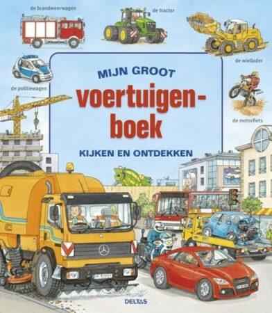 Afbeelding van Bruna Mijn groot voertuigenboek - Boek Deltas Centrale uitgeverij (9044733036)