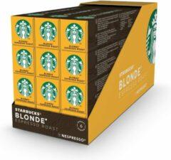 Starbucks by Nespresso capsules Blonde Espresso Roast - 12 doosjes à 10 koffiecups