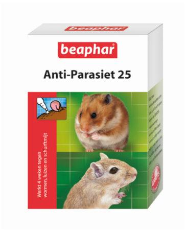 Afbeelding van Beaphar Anti-Parasiet 25 Knaag - Parasieten - 2 pip 50 - 300 G