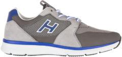 Grigio Hogan Scarpe sneakers uomo in pelle h254 t2015 h flock
