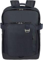 Donkerblauwe Samsonite Rugzak Met Laptopvak - Midtown Laptop Backpack L Uitbreidbaar Dark Blue