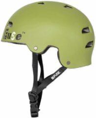 Donkergroene Fuse Alpha bmx/skate helm
