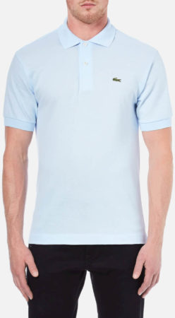 Afbeelding van Blauwe Lacoste Men's Classic Fit Pique Polo Shirt - Rill - 5/L - Blue