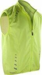 Spiro Bikewear Crosslite Gilet S259X - Maat L - Fietsjack - Neon Lime