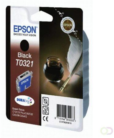 Afbeelding van Armor Epson inktcartridge zwart t0321 - 1240 pagina\'s - c13t03214010