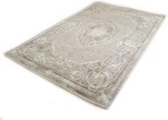 Antraciet-grijze Merinos Vintage - Perzisch - Acryl Vloerkleed - Therapy - Grijs-120 x 170 cm