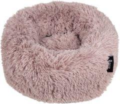 Zandkleurige District 70 FUZZ Comfortabele en Zachte hondenmand - Zand - Small 45 x 45 x 15 cm