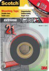 3M 40021915 Montagetape Scotch Grijs (l x b) 1.5 m x 19 mm 1.5 m