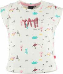 Babyface Meisjes T-shirt - Ecru - Maat 86