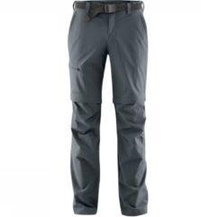 Maier Sports - Tajo 2 - Trekkingbroeken maat 94 - Long, zwart/grijs