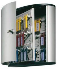 Zilveren Durable Hunke & Jochheim | ESVSHOP.nl Durable sleutelkast Key Box voor 36 sleutelhangers formaat 302 x 28 x 118 cm grijs