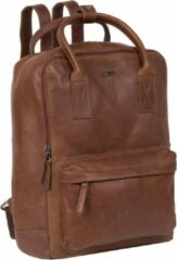 Bruine Justified Bags Nynke Shopper Backpack Brown XIX