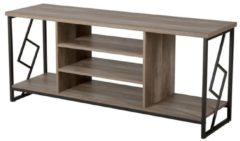 Beliani Forres TV-meubel Donker houtkleur Verlijmd hout
