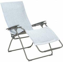 Licht-grijze Lafuma Littoral Handdoek Voor Relaxstoel Lichtgrijs