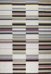 Disena Multicolor vloerkleed - 160x230 cm - Gestreept - Modern