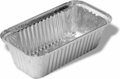 Zilveren Royal ware by Farla Aluminium wegwerp bak - 1,5L - 30 stuks