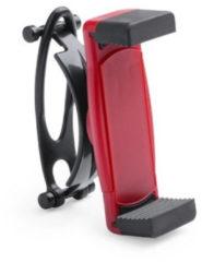 Merkloos / Sans marque Smartphone houder / telefoonhouder universeel voor fiets / kinderwagen / hometrainer - Rood