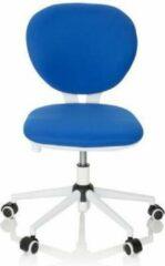 Hjh OFFICE KID Vivo - Kinder bureaustoel - Blauw - Stof