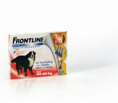 Frontline Spot On 4 Xlarge Hond Xlarge - Anti vlooien en tekenmiddel - 4 pip
