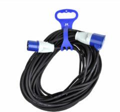 Universeel Kabelbinder met handgreep voor CEE verlengkabel