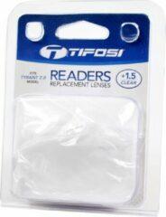 Transparante Tifosi reader lens Tyrant clear +1.5