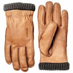 Hestra - Deerskin Primaloft Rib - Handschoenen maat 7 beige/bruin