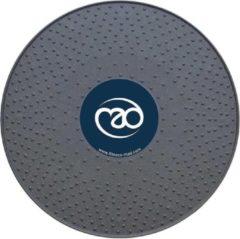 Grijze Fitness-Mad MADFitness - Verstelbaar Balanceboard - Diameter 40 cm