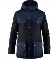Groene Fjällräven - Greenland Re-Wool Jacket - Winterjack maat L, zwart