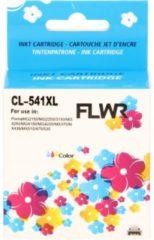 FLWR - Inktcartridge / CL-541XL / Kleur - Geschikt voor Canon