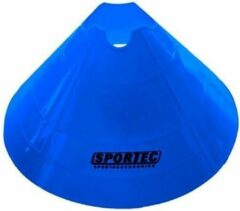 Sportec Afbakenbollen Groot Soft Plastic 10 Stuks Blauw