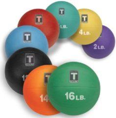 Body-solid Medicine Ball - Oranje - 6300 Gram - Zwart, Rood, Blauw, Groen, Geel, Magenta