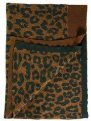 Kaat Amsterdam Tigerlily Plaid - 98% Katoen - 2% Lurex - 130x170 Cm - Bruin