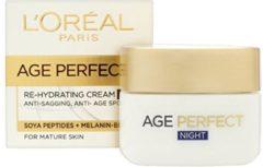 L'Oréal Paris L'Oreal Nachtcrème - Age Perfect 50 ml.